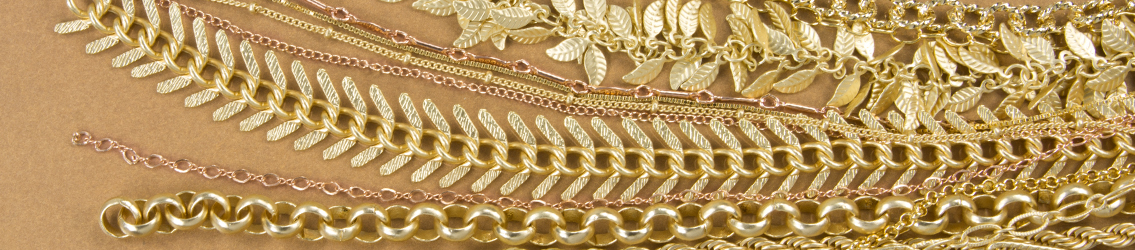 Gold Chain for Jewelry Making