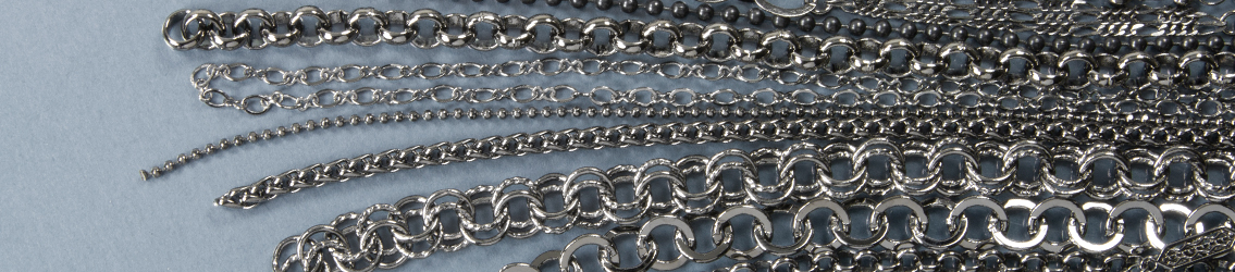 Gunmetal Chain for Jewelry Making