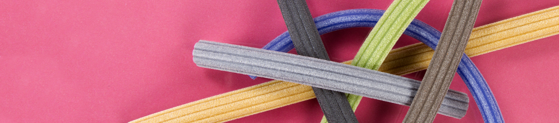 Hollow Corduroy Rubber Cord